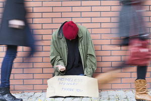 Homelessness in a big city